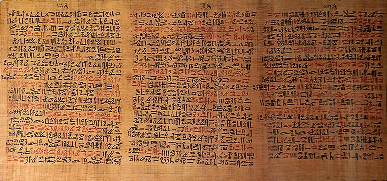 Antiguos tratados médicos - Papiro Ebers