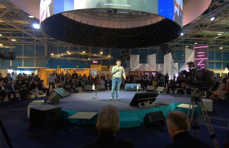 ASHES TO LIFE ha sido reconocida como una de esas 101 iniciativas empresariales #PorElClima y ha participado en la Cumbre del Clima COP25