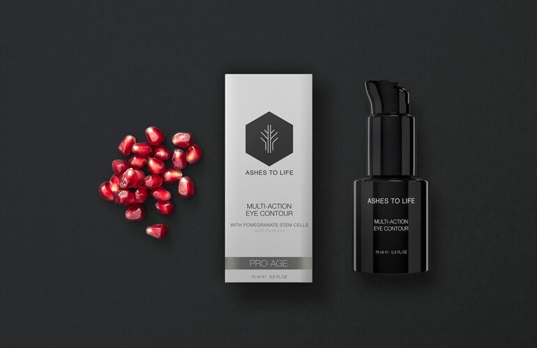 Las células madre de Granada se utilizan en la elaboración de productos cosméticos ecológicos específicos para tratar los signos propios de la edad